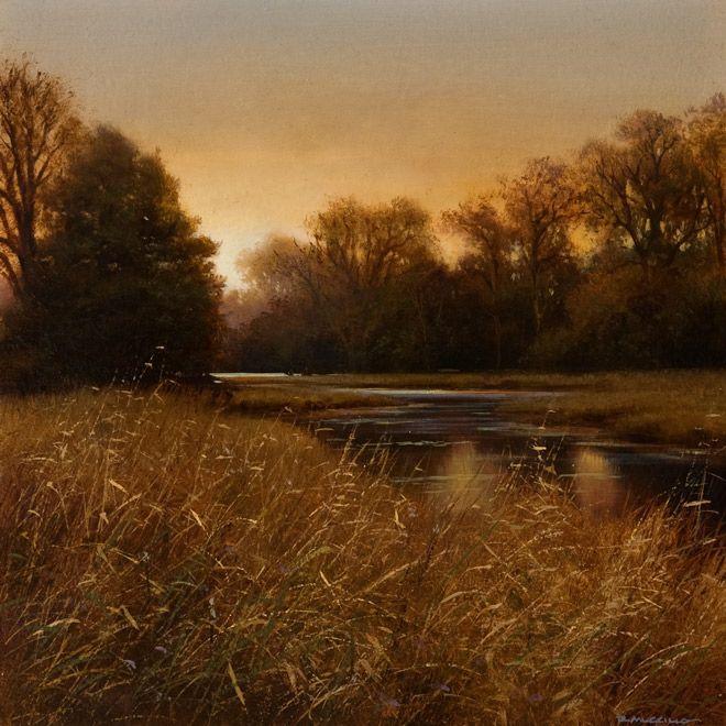 Ochre Grasses, by Renato Muccillo