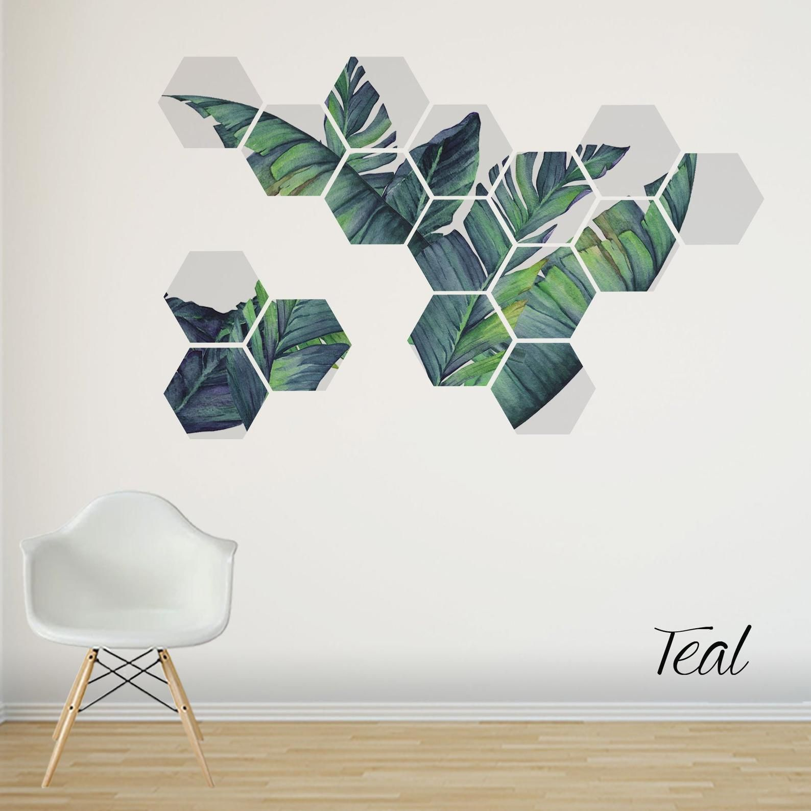 Tropical Wall Decal Removable Wall Stickers Birthday Present For