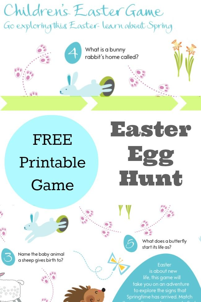 Complete Easter With A Fun Easter Egg Hunt Your Kids Will Definitely Adore Forget The Usual Easter Games And Check Out This List Of Game Any Kid Will Love
