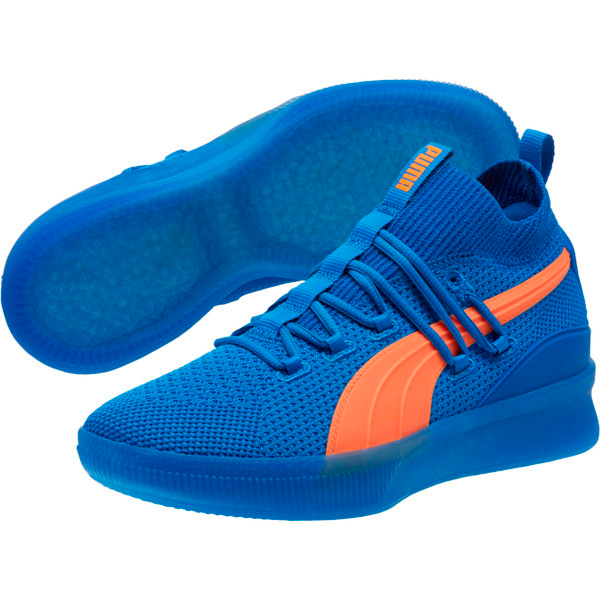 victoria en frente de Votación  Clyde Court Core Basketball Shoes | PUMA US | Blue puma shoes, Basketball  shoes, Classic sneakers