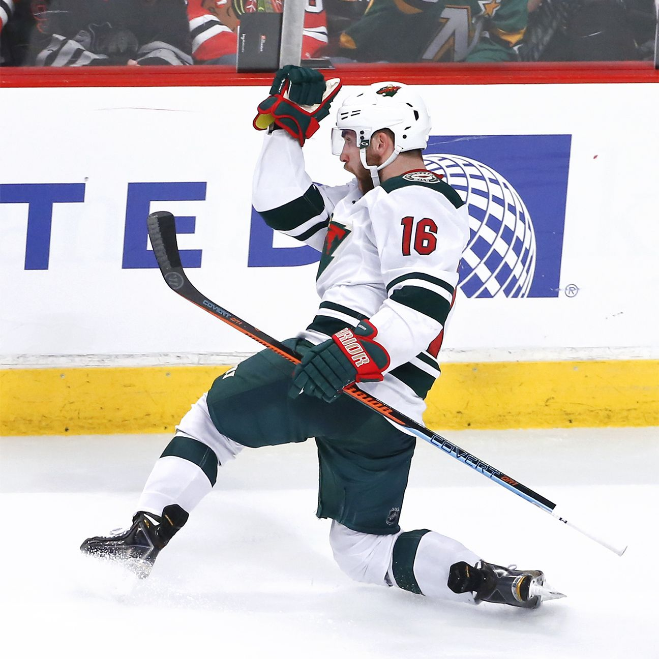 Wild S Zucker Scores Goal In Victorious Return Wild Hockey