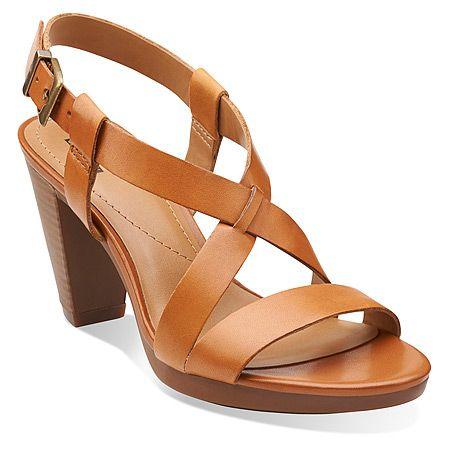 Clarks Jaelyn Fog | Women's - Tan Leather