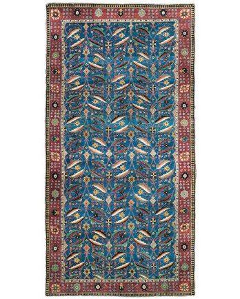 Persian. Herati/mahi(fish) pattern. 17th c
