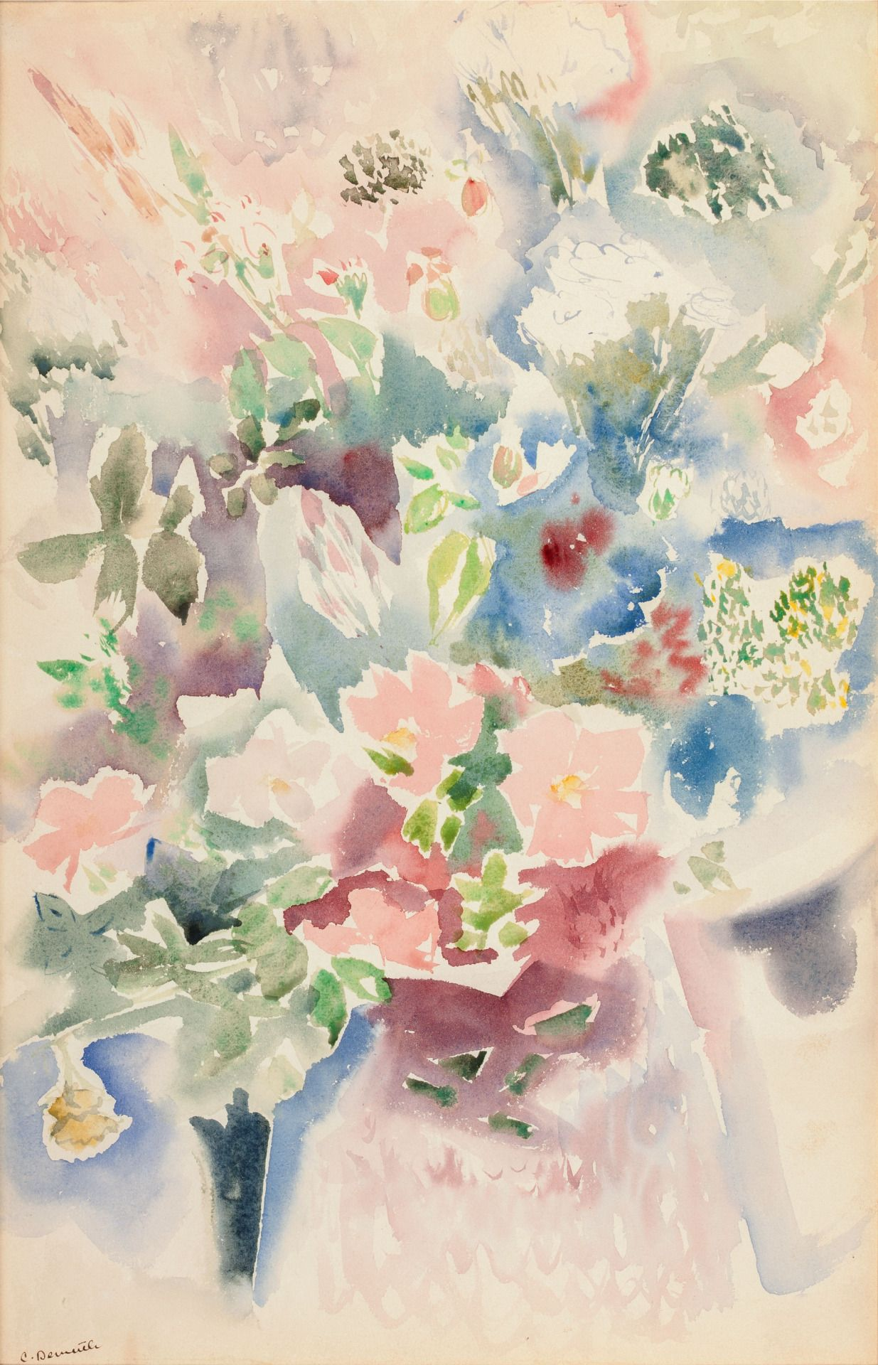 Thunderstruck9 Charles Demuth American 1883 1935 Floral