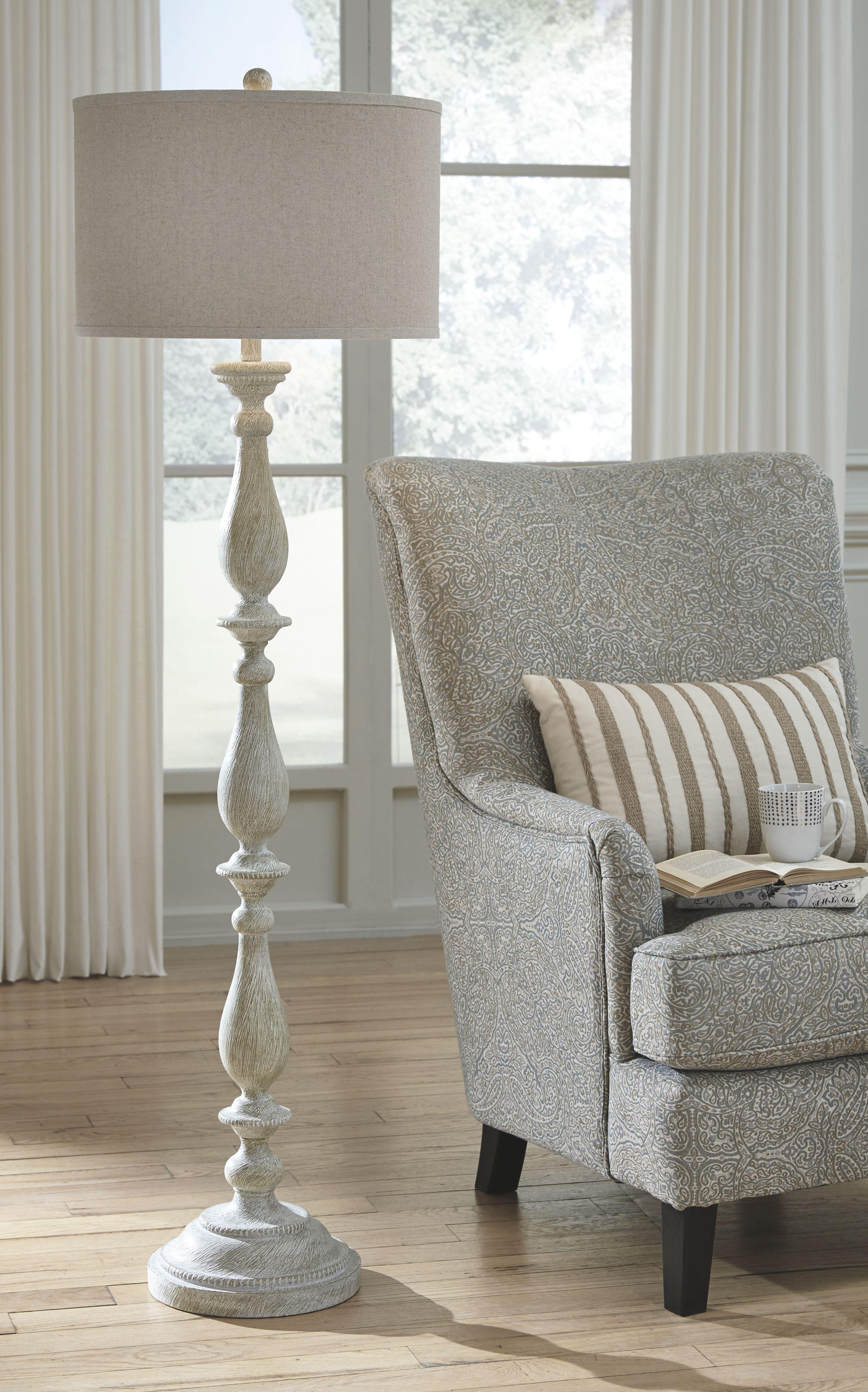Bernadate floor lamp floor lamps living room white