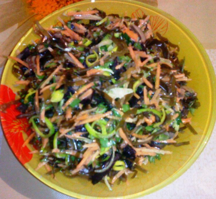 Салат из морской капусты гост или ту действующий.