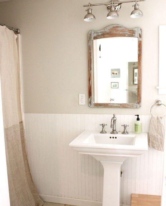 leah rich s evolving patina paint budget bathroom. Black Bedroom Furniture Sets. Home Design Ideas