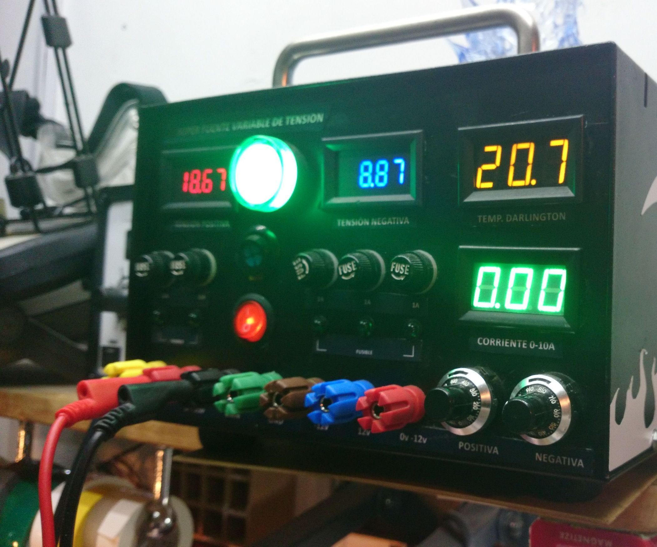 Design and Implementation of a 10Amp Linear Power Supply | Simple ...