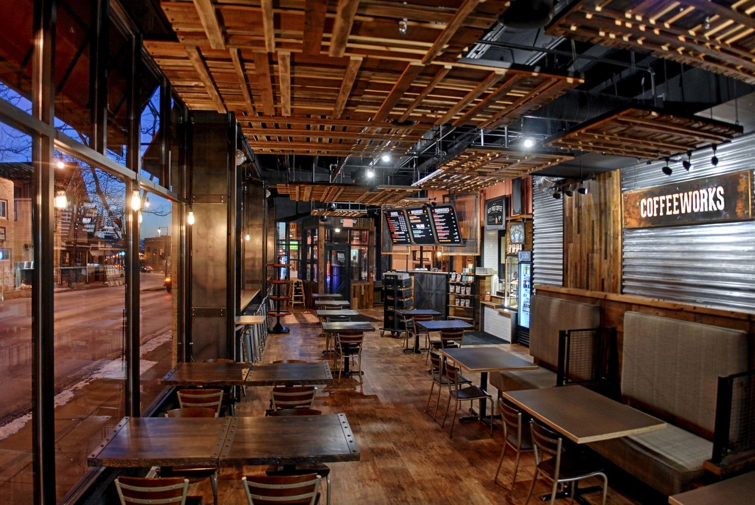 industrial coffee house - google search | iwc space | pinterest