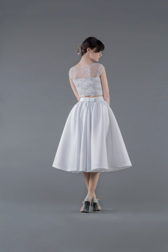 5c6c4c50758c04 Tea Party midi skirt / white midi skirt / by WardrobeByDulcinea-$189.00+