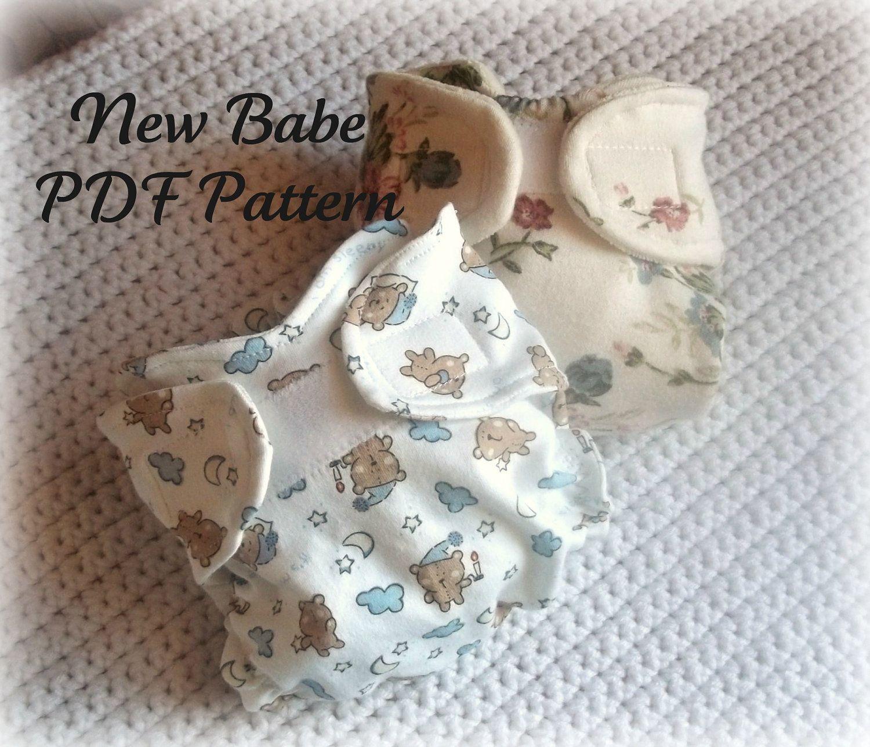 Cloth Diaper Pattern PDF New Babe. $4.00, via Etsy. | cloth diapers ...