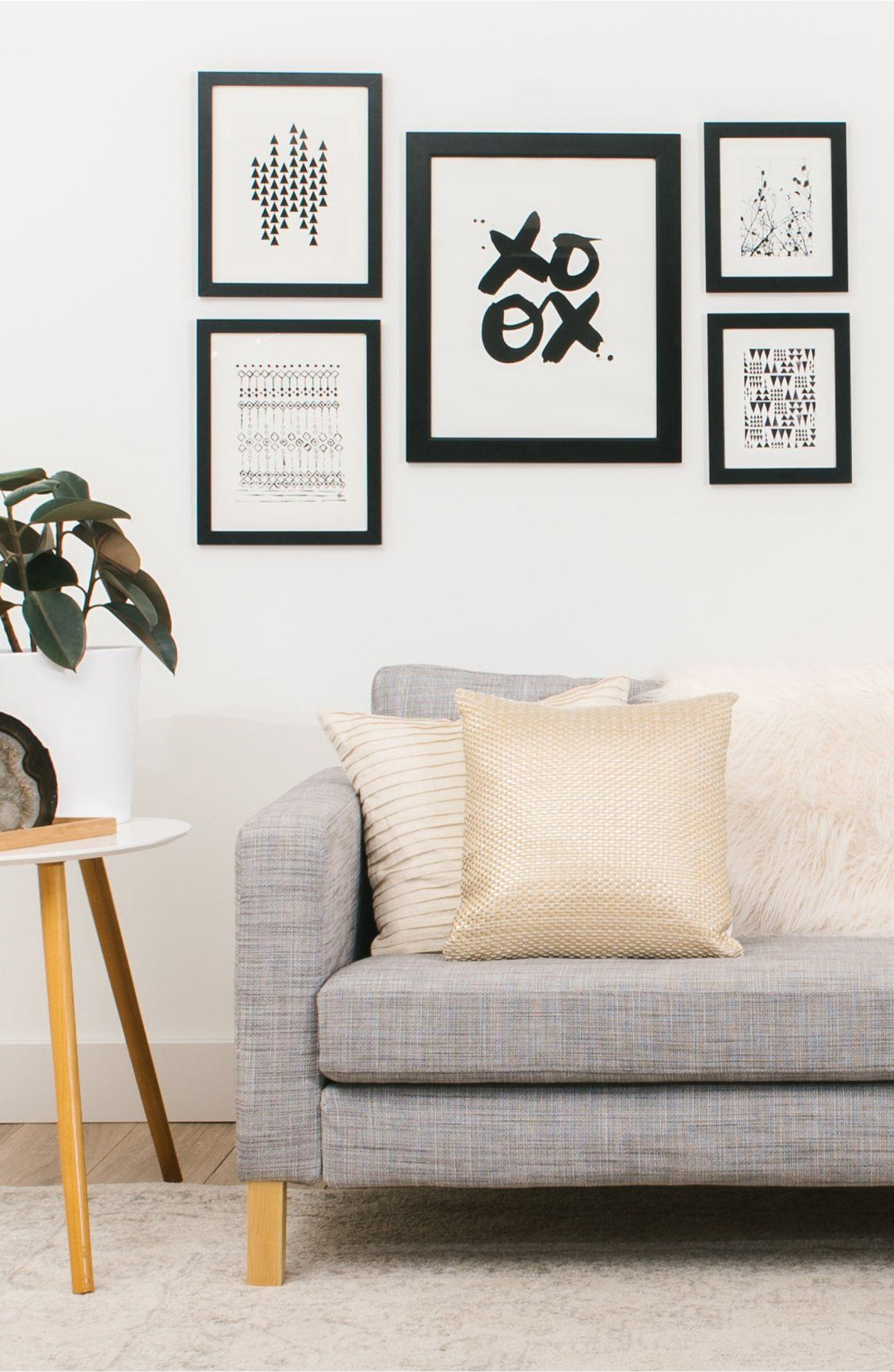 Transform Your Living Space Into An Art Gallery With A