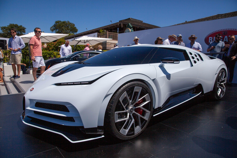 R135 Million Bugatti Centodieci Packs 1 577 Hp 1 176 Kw And All 10 Units Are Sold Bugatti Bugatti Cars Concept Cars