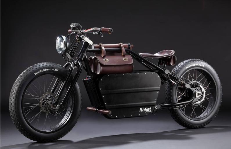 Italjet Bulldozer Electric Bike Electric Motorcycle Electric Motorbike Motorised Bike