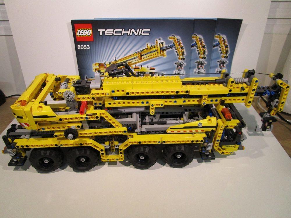details about lego technic mobile crane 8053 model pre built rh pinterest com