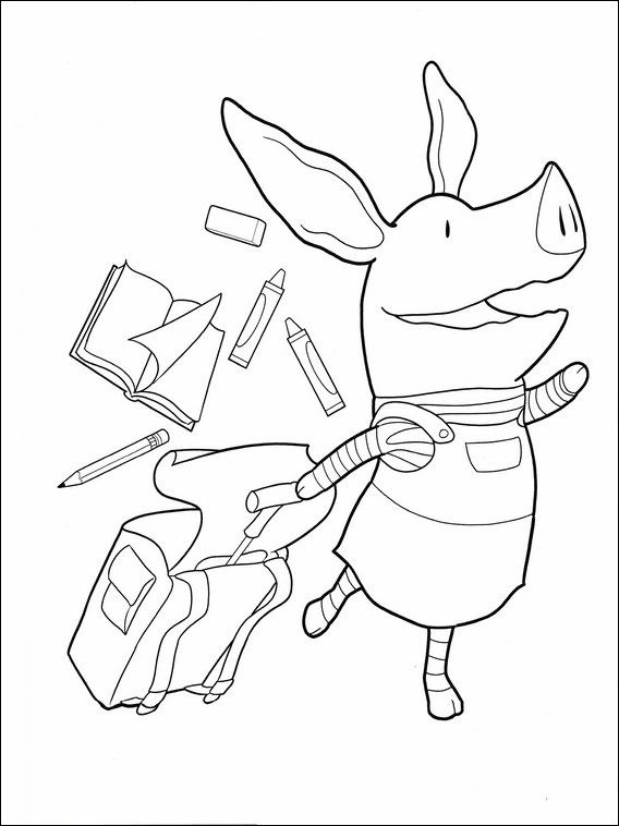 Olivia Coloring Pages 34 | Coloring pages for kids | Pinterest