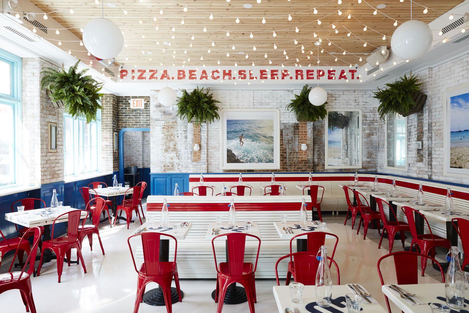 Pizza Beach Lower East Side New York