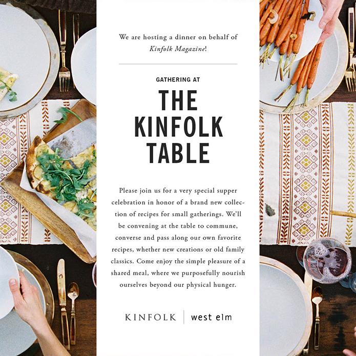 A Gathering With Kinfolk Brunch In Oregon: GRAPHIC DESIGN - Minimalist