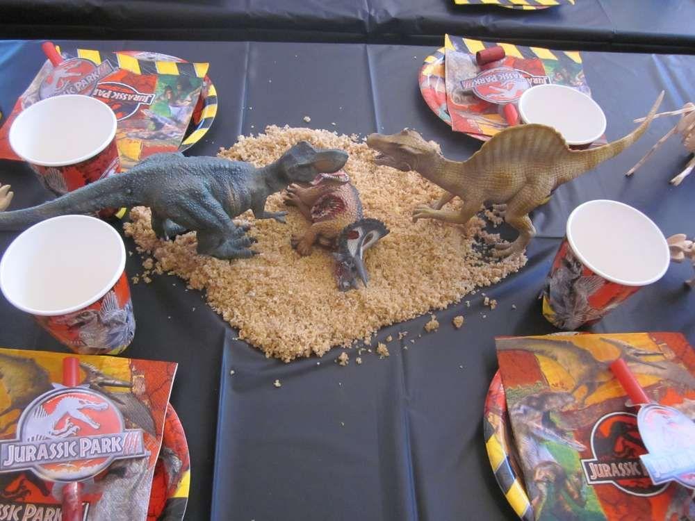 Dinosaurs & Jurassic Park Birthday Party Ideas | Parks, Birthdays ...