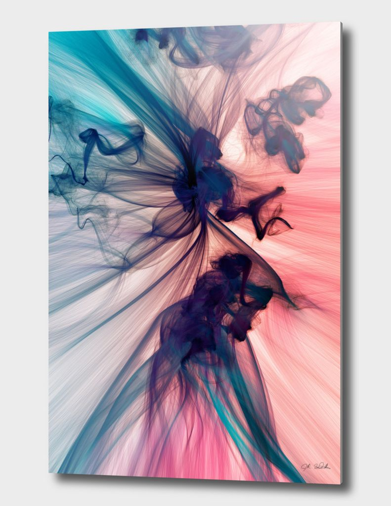 «Smoke» Aluminum Print by J.R. Schmidt - Numbered Edition from $74.9 | Curioos