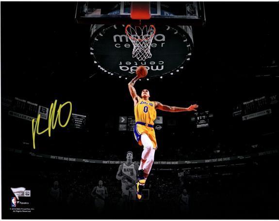 ba77f751978 Kyle Kuzma Los Angeles Lakers Autographed 11