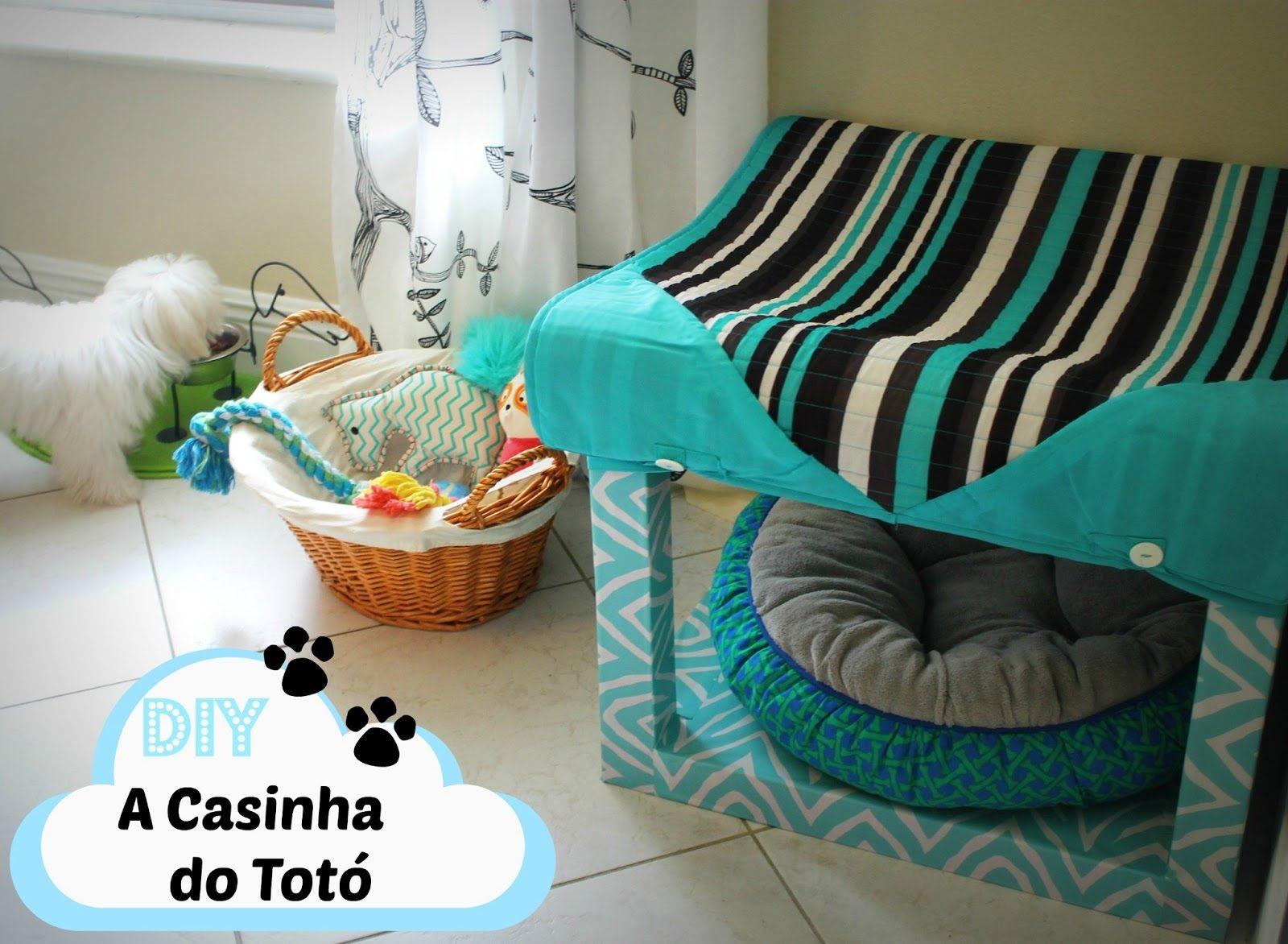 O cantinho do nosso pet casinha diy cat furniture dog and cat