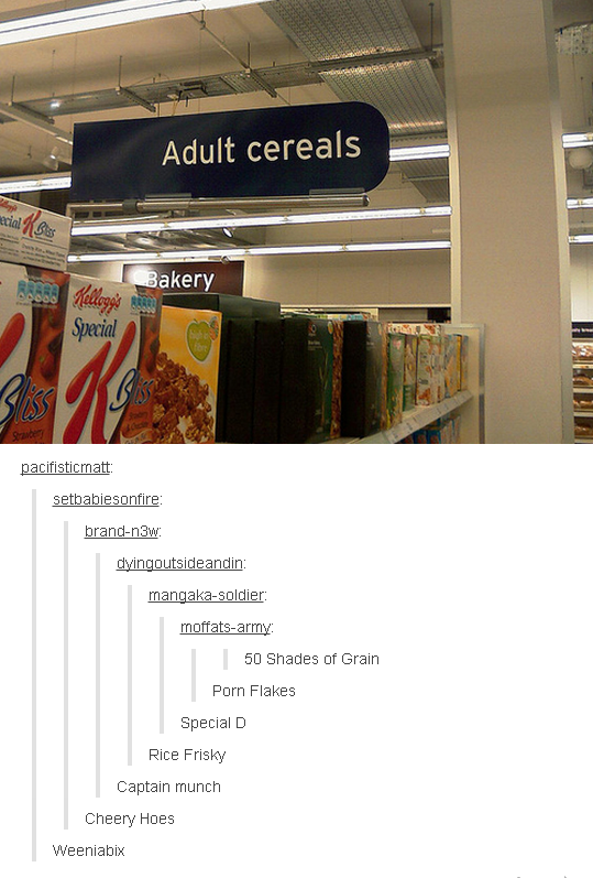 This Cereal Spin Off Funny Quotes Tumblr Funny Funny Funny