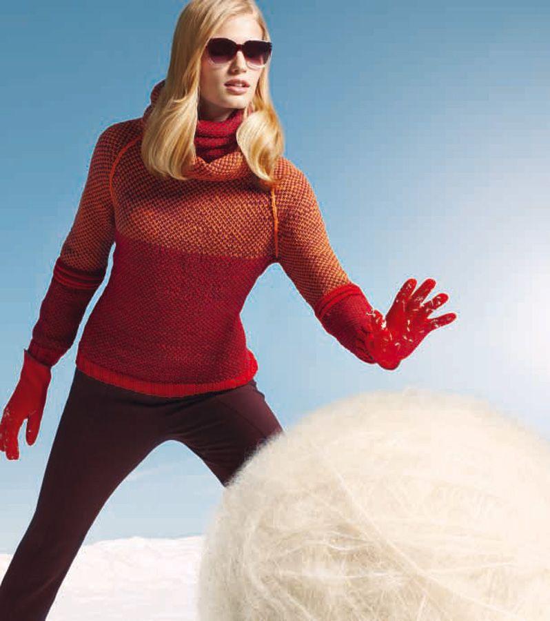 Lana Grossa RAGLANPULLI Cool Wool | RAGLANPULLI Cool Wool von Lana Grossa | Strickmodelle - Modell Pakete - im FILATI.cc WebShop mit Lana Grossa Produkten