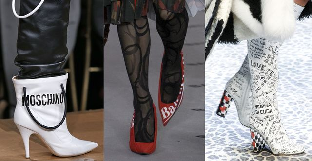 10 shoe trends for Fall/Winter 2017-2018