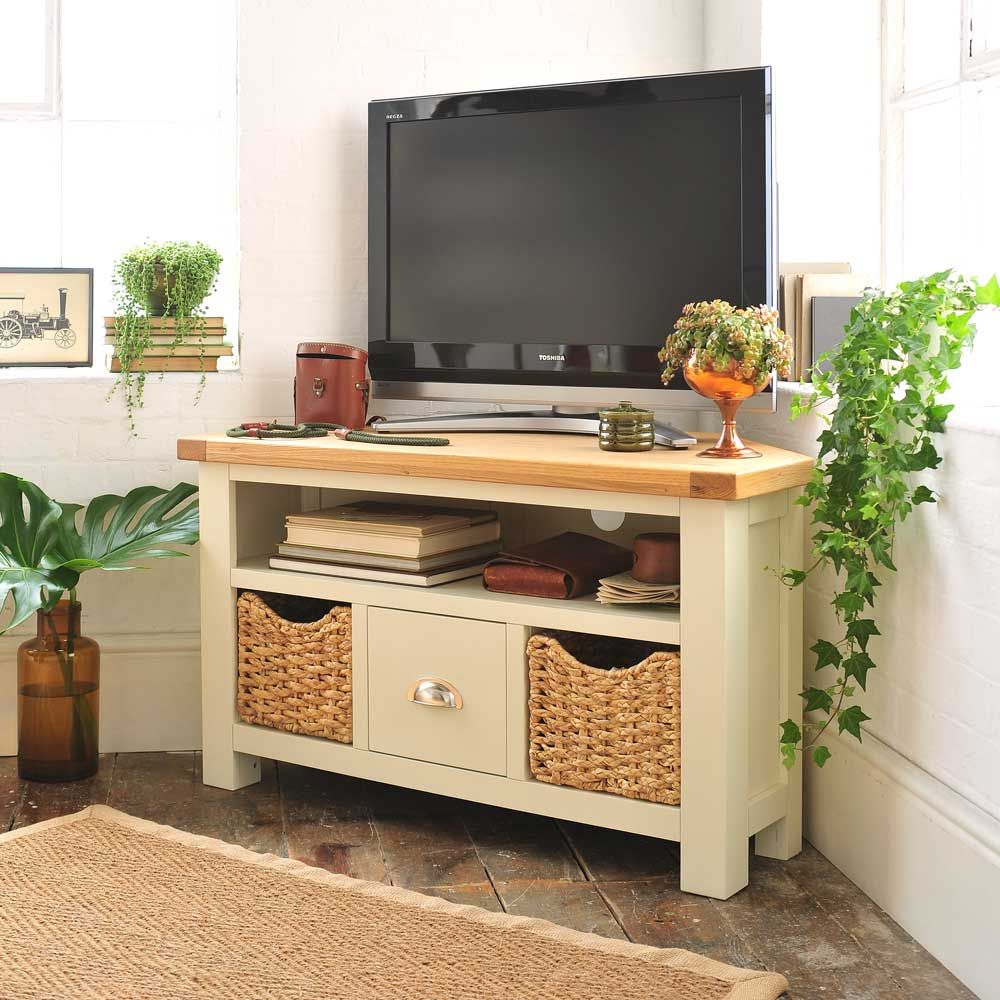 Pacific Painted Corner TV Unit - Up to 47\