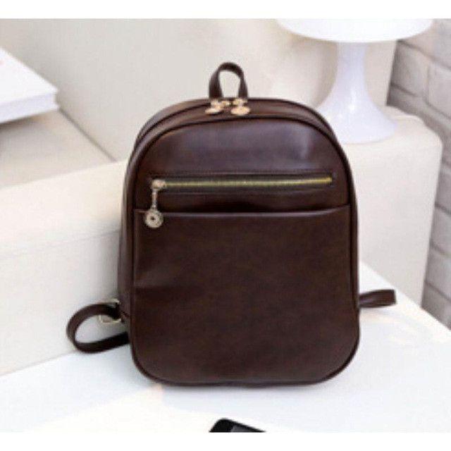 25cee2d2b169 Lemon Kitten Pu Leather Women Backpack Solid Color Rucksack For Women Teenage  Girl Student Backpack Mochila Escolar