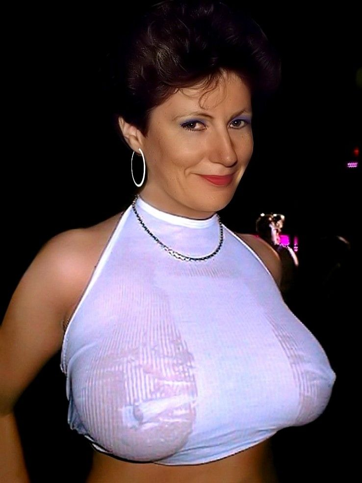 Enjoy with boobs of neighbours wife