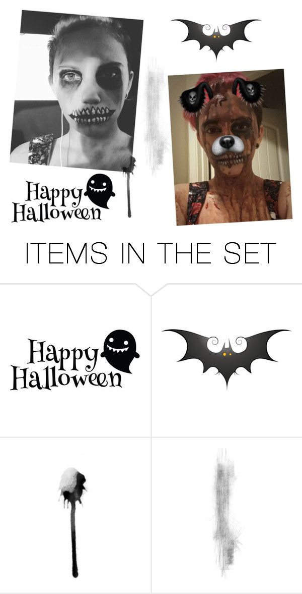 """rtd/Happy Halloween~"" by nightstalker ❤ liked on Polyvore featuring art"