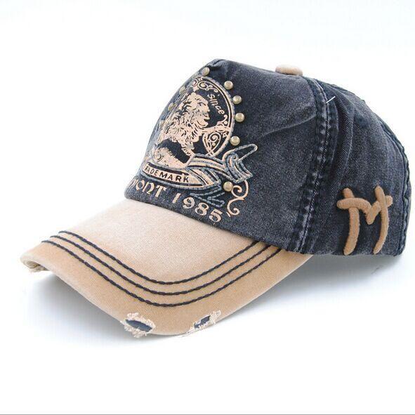 6216d7da3c0 Rhandz UNISEX Snapback Baseball Cap Men Embroidery lion bone Casquette 100%  Cotton