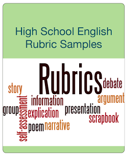 """FREE LANGUAGE ARTS LESSON - """"High School English Rubric Sampler"""" - Go to The Best of Teacher Entrepreneurs for this and hundreds of free lessons.   11th - 12th Grade  #FreeLesson   #TeachersPayTeachers   #TPT   #LanguageArts  http://www.thebestofteacherentrepreneurs.net/2013/08/free-language-arts-lesson-high-school.html"""