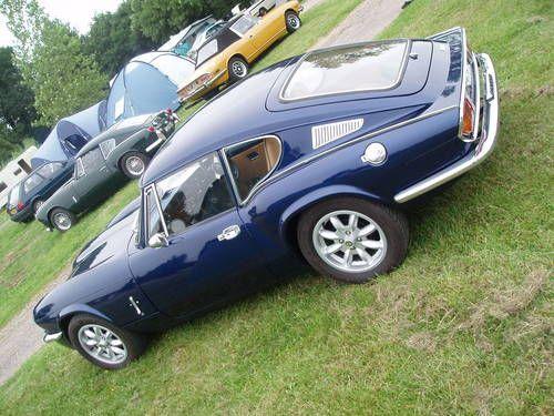 Metallic Blue Triumph Gt6 Mk3 Early Rotoflex Model Sold 1972