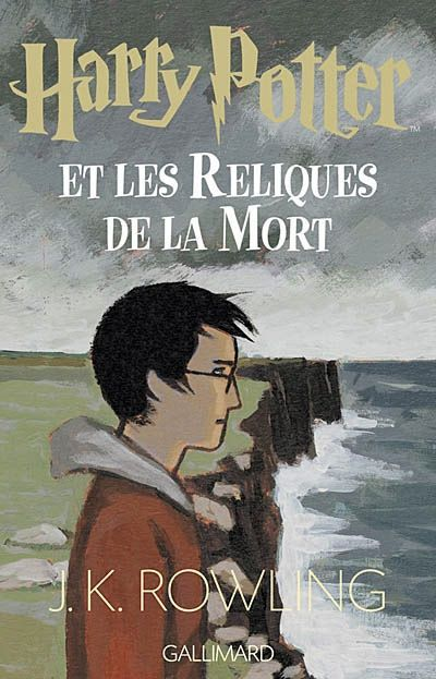 French Cover Harry Potter And The Deathly Hallows Harry