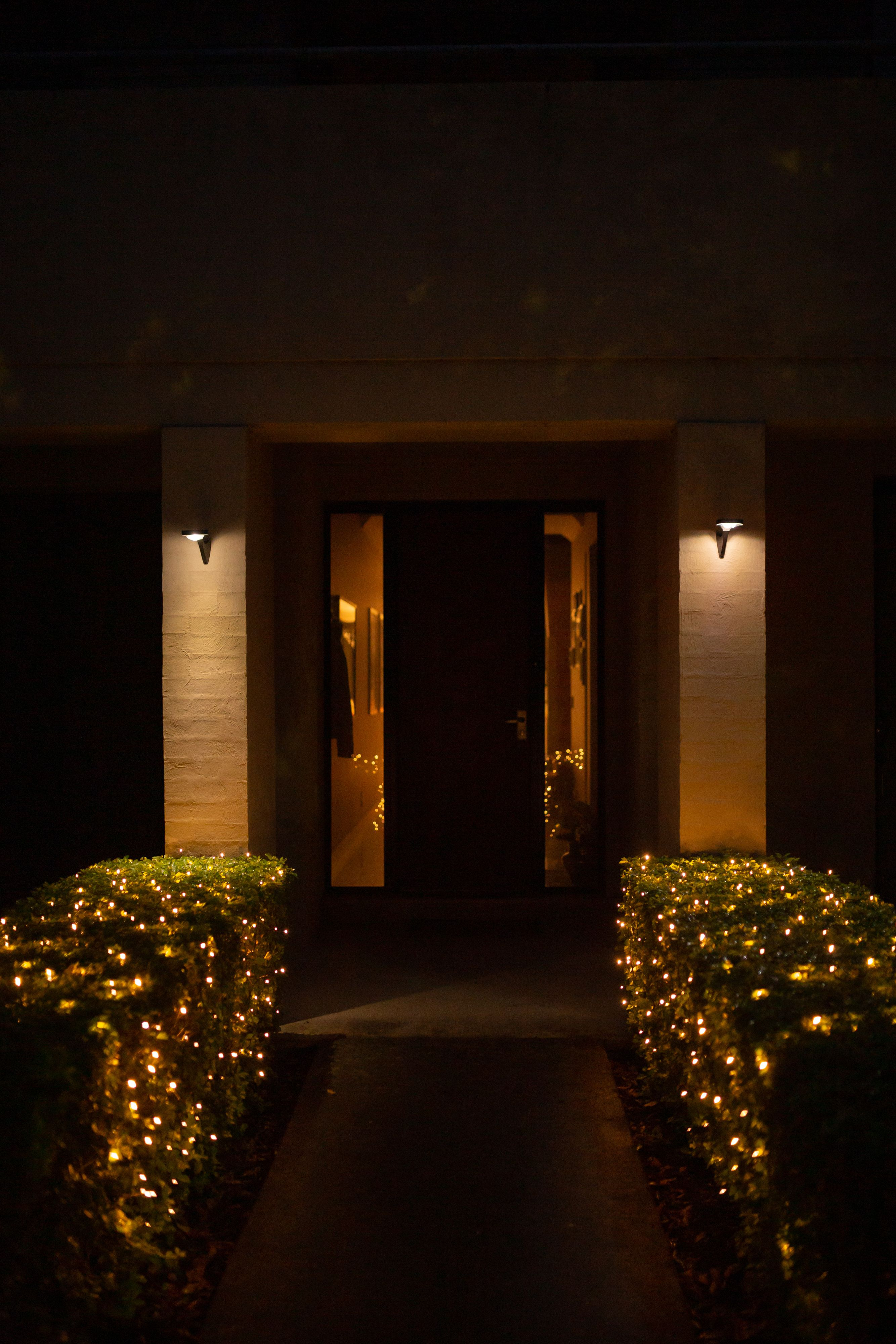 Garden Night Light Magic With Hoselink Solar Lights Garden Garden Night Lighting Solar Wall Lights