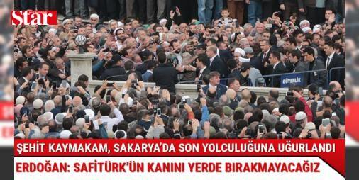 Cumhurbaşkanı Erdoğan: Muhammed kardeşimin kanı yerde kalmayacak : Mardinin Derik ilçesindeki saldırıda şehit olan Kaymakam Muhammet Fatih Safitürkün cenazesine katılan Cumhurbaşkanı Recep Tayyip Erdoğan Muhammed kardeşimin kanı yerde kalmayacak. Hep birlikte dağ taş demeden bu mücadelemizi sürdüreceğiz dedi.  http://www.haberdex.com/turkiye/Cumhurbaskani-Erdogan-Muhammed-kardesimin-kani-yerde-kalmayacak/79355?kaynak=feeds #Türkiye   #kalmayacak #Cumhurbaşkanı #kanı #yerde #kardeşimin