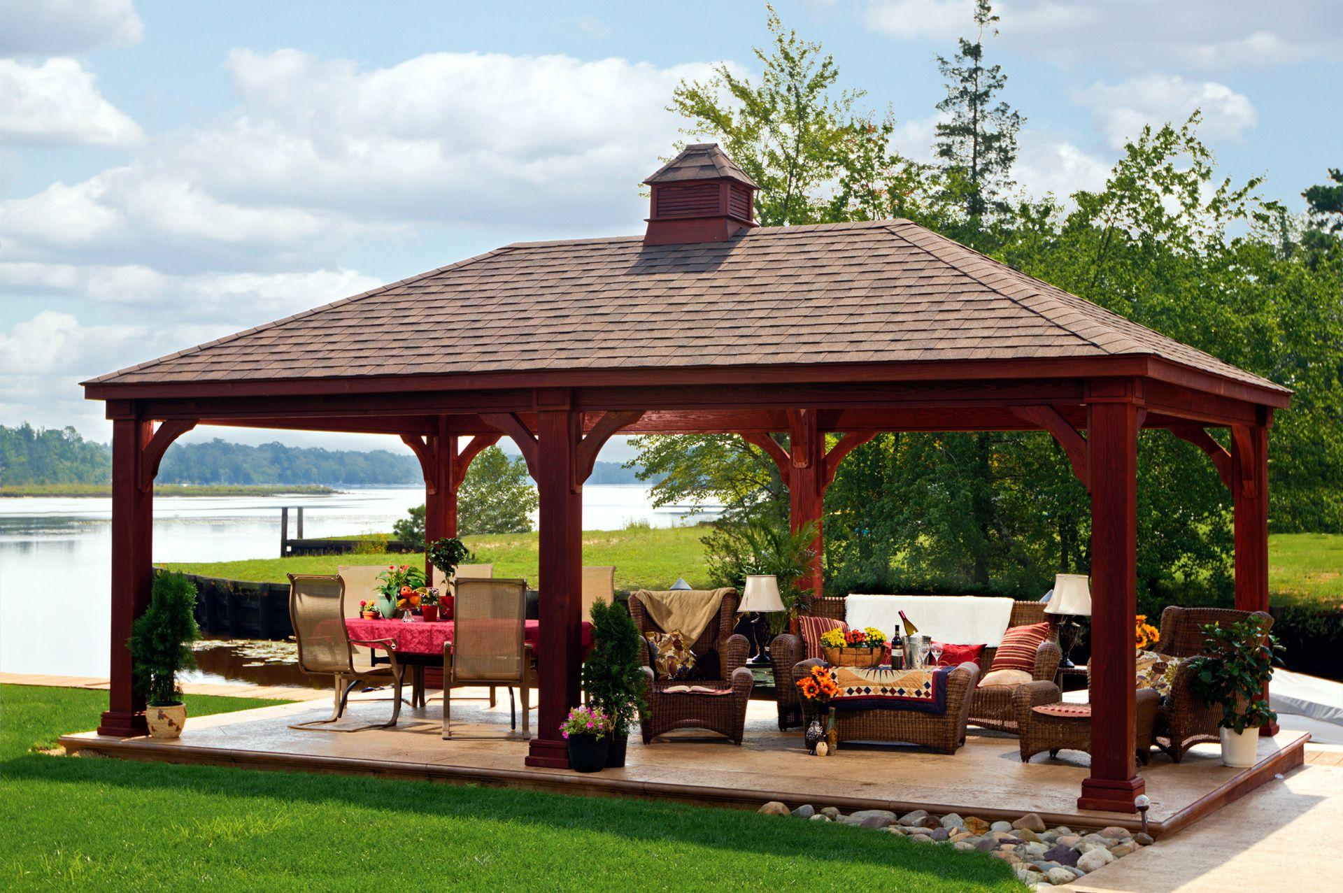 Image Result For Furniture Set Up 12 X 16 Gazebo Backyard Pavilion Backyard Gazebo Outdoor Pavilion