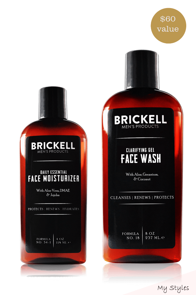 Mar 31 2018 Brickell S Full Size Men S Daily Skin Care Essentials In One Complete Collection These Two Prod Mens Hair Care Face Care Routine Mens Skin Care