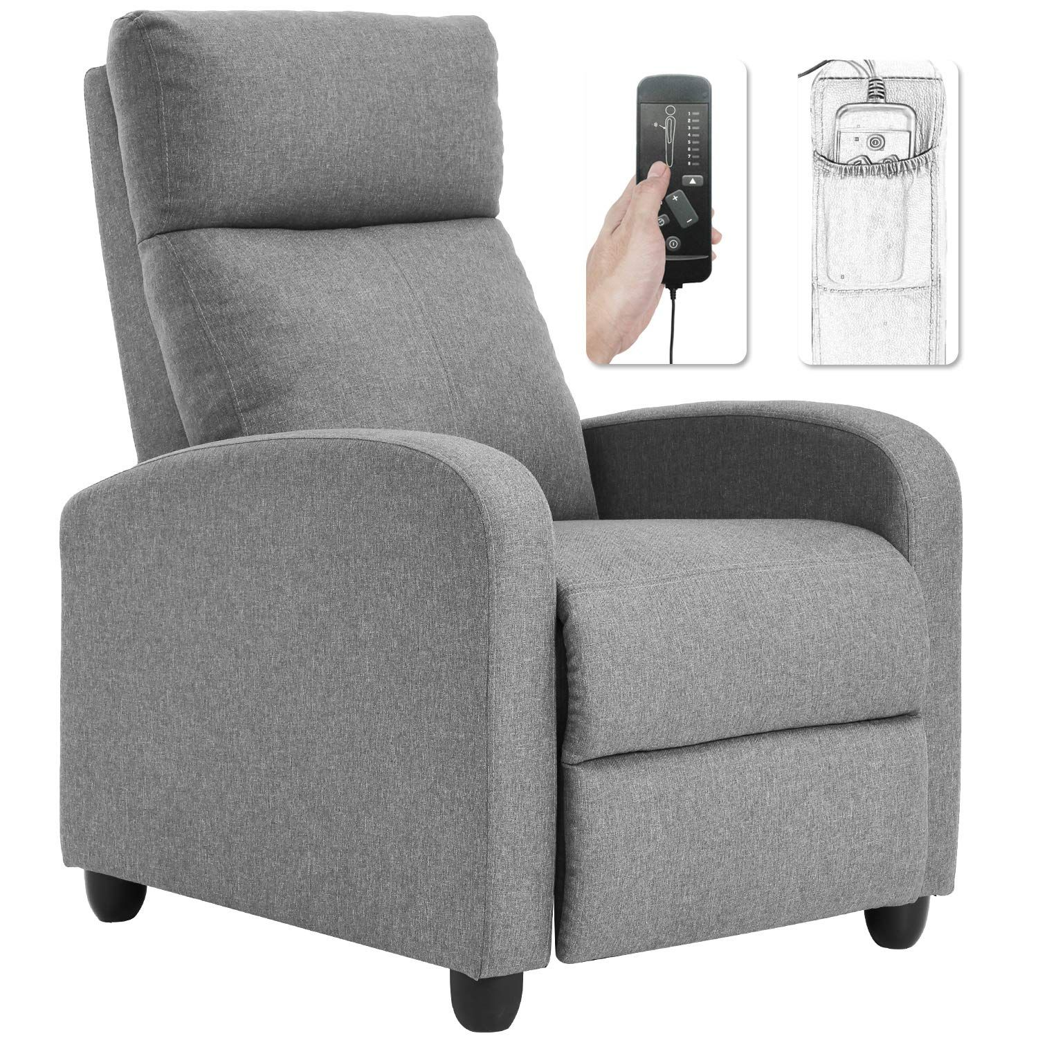 Recliner Chair For Living Room Winback Single Sofa Massage Recliner Sofa Reading Chair Home Theater Seat Recliner Chair Living Room Chairs Home Theater Seating #small #recliners #for #living #room