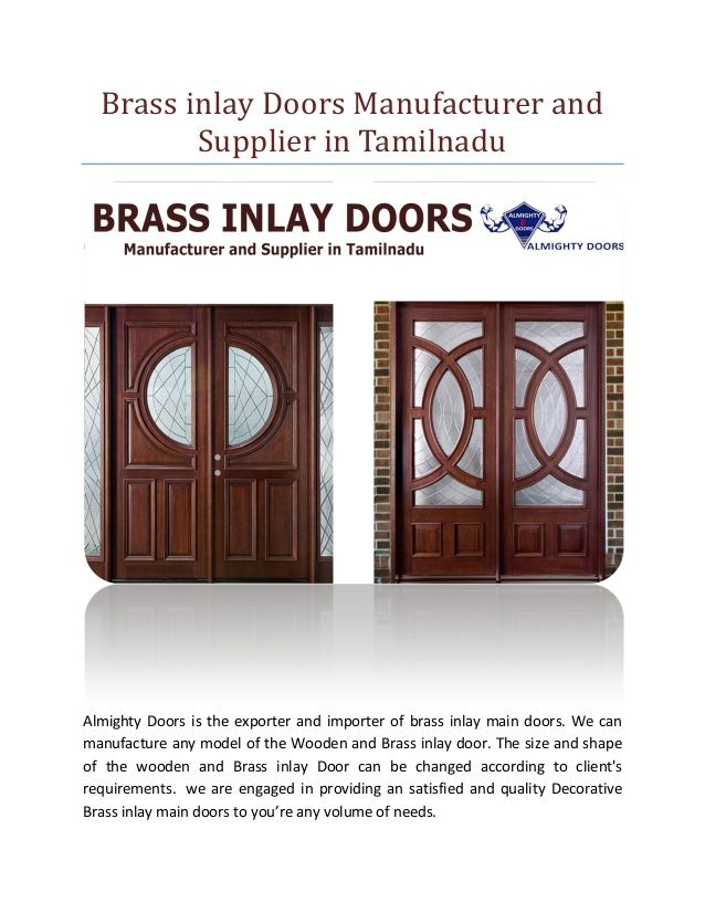 Brass Inlay Doors Wholesale In Tamilnadu Brass Inlay Doors