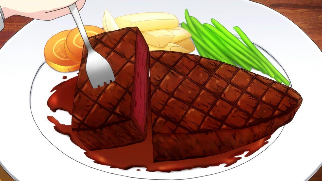 Shimoneta Episode 3 Food Illustrations Food Art Food