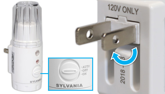 3 In 1 Led Power Failure Night Light And Flashlight By Sylvania Pulsetv Sylvania Power Failure Night Light
