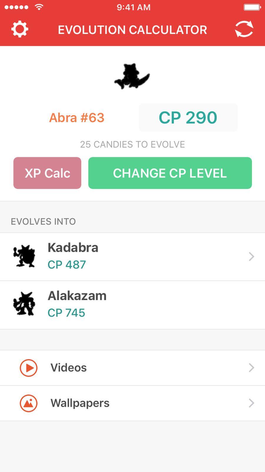 Evolution Calculator For Pokemon Go Xp 3d Object Game