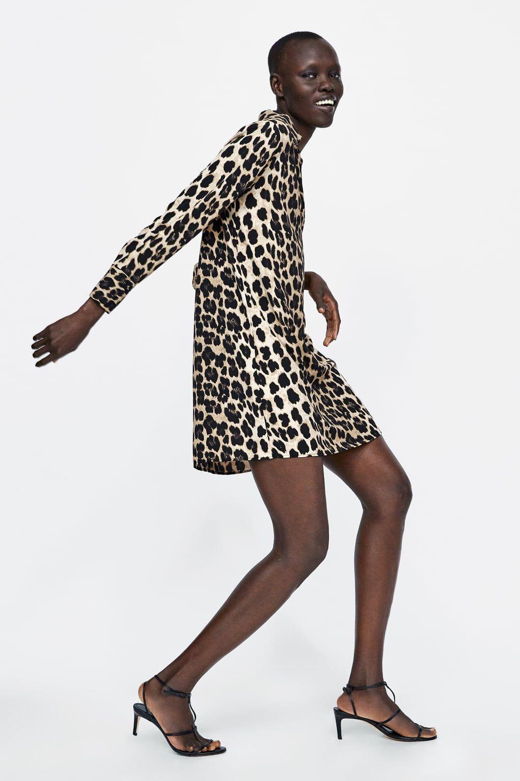 4de95f9b Image 5 de LEOPARD PRINT SHIRT DRESS de Zara   My Style in 2019 ...