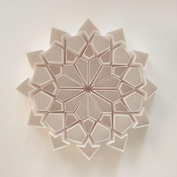 Paper art from Matt Shlian. See more at Visual News: www.visualnews.com/2013/09/09/inspiring-artwork-paper-engineer-matt-shlian-inspiring-nano-scientists/