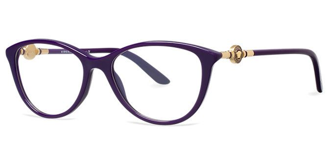 Eyeglass Frames New Trends : Versace, VE3175 As seen on LensCrafters.com, the place to ...