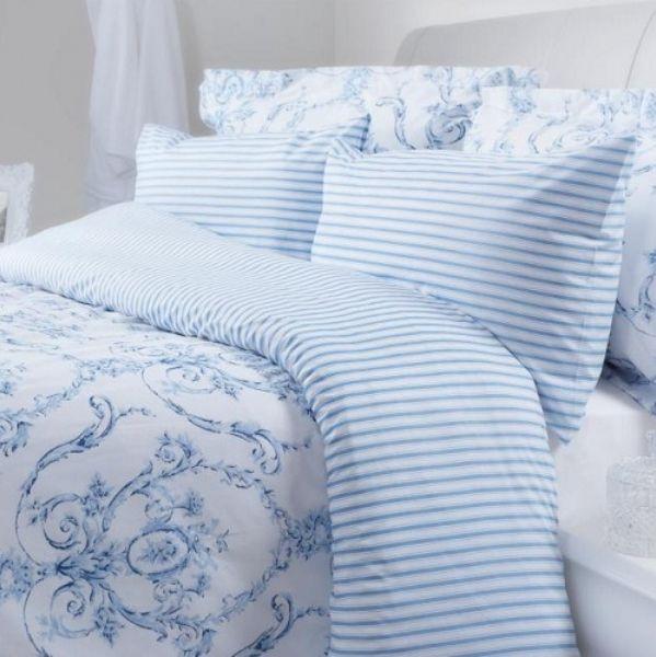 Elizabeth Blue Duvet Covers Pillowcases And Curtains Blue Duvet Cover Blue Duvet Blue And White Bedding Blue and white duvet covers